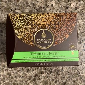 Moroccan gold series treatment mask